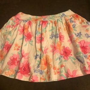 Girls skirt with pockets